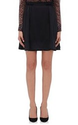 Barneys New York Women's Layered Miniskirt Black