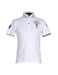 Aeronautica Militare Topwear Polo Shirts Men White