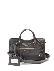Balenciaga Classic City Small Leather Tote Grey