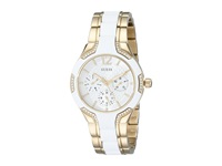 Guess U0556l2 Center Stage White Sport Watches