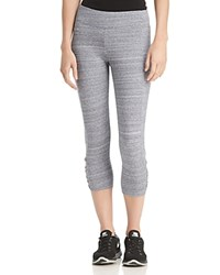 Marc New York Performance Space Dyed Cropped Leggings Navy Sandpaper