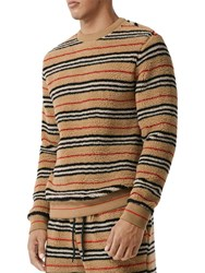 Burberry Acrylic Blend Sweater Archive Beige