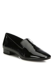 Michael Kors Roxanne Patent Leather Loafers Black
