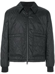 Ami Alexandre Mattiussi Quilted Jacket Black