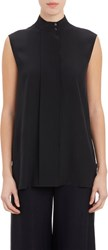The Row Sleeveless Sleeton Blouse Black