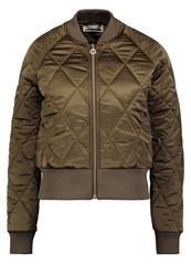 Noisy May Nmpilot Bomber Jacket Ivy Green Khaki