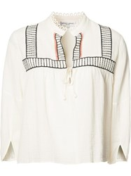 Apiece Apart 'Loreto' Blouse White