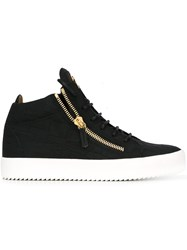 Giuseppe Zanotti Design Kriss Hi Top Sneakers Black