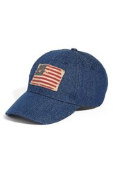 Steve Madden Women's Denim Baseball Cap