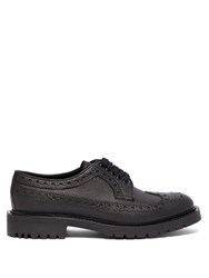 Burberry Alexre Leather Brogues Black
