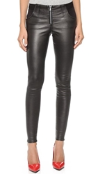 Joe's Jeans Knockout Leather Zip Leggings Maiken