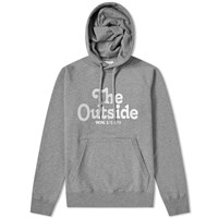 Wood Wood Fred The Outside Popover Hoody Grey