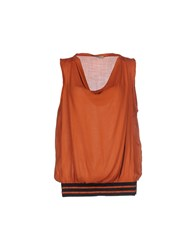 Lou Lou London Topwear Tops Women Rust