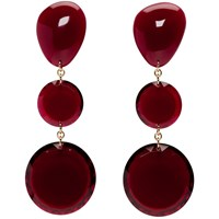 Isabel Marant Red Bright Earrings