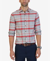 Nautica Men's Ablaze Plaid Shirt