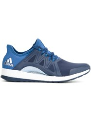 Adidas Pure Boost Trainers Women Soft Synthetic Fiber 22.5 Blue