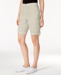 Karen Scott Cargo Shorts Only At Macy's Stonewall