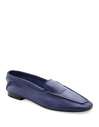 Andre Assous Abigail Leather Loafers Navy Blue