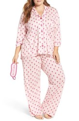 Pj Salvage Plus Size Women's Pajamas And Sleep Mask