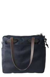 Filson Rugged Twill Zip Tote Bag Blue Navy