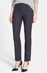 Petite Women's Nic Zoe 'The Perfect' Ankle Pants Midnight