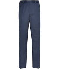 Austin Reed Contemporary Fit Blue Pindot Trousers