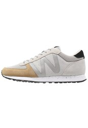 Wesc Post Runner Trainers Birch Light Grey