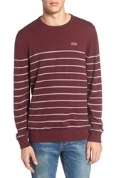 Vans Men's Livingston Sweater Port Royale Concrete Heather