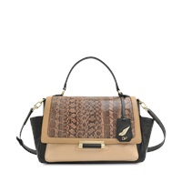 Diane Von Furstenberg Mini 440 Embossed Lizard Bag