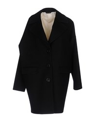 Tonello Coats Black