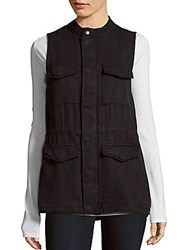 Matty M Solid Cargo Vest Navy