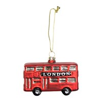 Gisela Graham London Bus Tree Decoration