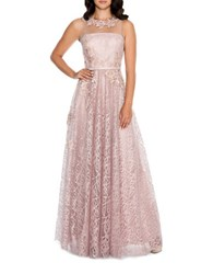 Decode 1.8 Floral Embellished Gown Blush