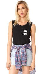 Private Party Girl Power Tank Black