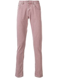 Dondup Ritchie Jeans Pink And Purple
