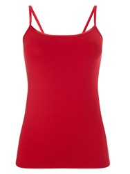 Phase Eight Satin Binding Camisole Red