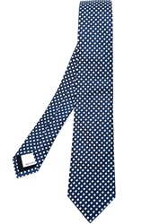 Valentino Garavani Checked Tie Blue