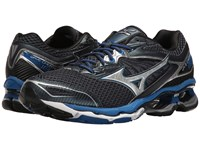 Mizuno Wave Creation 18 Dress Blue Silver Nautical Blue Men's Running Shoes Dress Blue Silver Nautical Blue