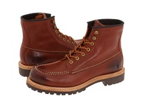 Frye Dakota Mid Lace Red Wood Men's Dress Lace Up Boots Burgundy
