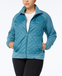 Columbia Plus Size Warmer Days Iii Jacket Cloud Burst