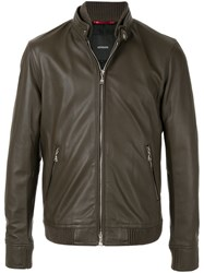 Loveless Fitted Jacket Brown