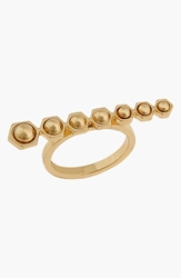 Rachel Zoe 'Mia' Bar Ring Gold