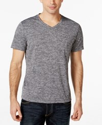 Alfani Ethan Performance T Shirt Only At Macy's Deep Black Combo