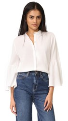 Mih Jeans Goldie Shirt White