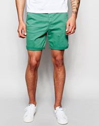 Only And Sons Chino Shorts Green