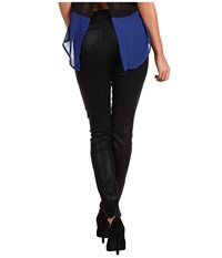Hudson Krista Super Skinny Wax Colors Black Wax Women's Jeans