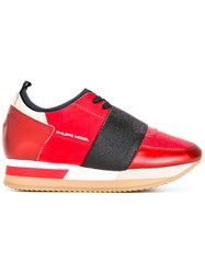 Philippe Model Pretty Sneakers Red