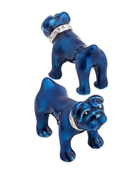Thomas Pink Bulldog Cufflinks Blue