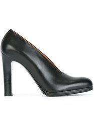 Veronique Branquinho Block Heel Pumps Black