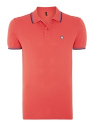 United Colors Of Benetton Regular Fit Polo Shirt Coral